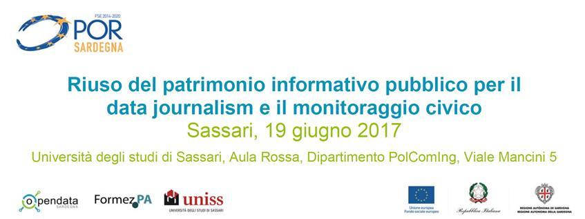 Riuso del patrimonio informativo pubblico per il data journalism e il monitoraggio civico