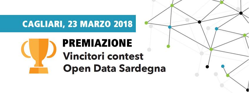 Premiazione vincitori contest open data Sardegna