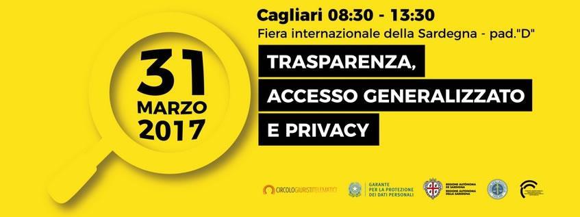 Trasparenza, Accesso generalizzato e Privacy